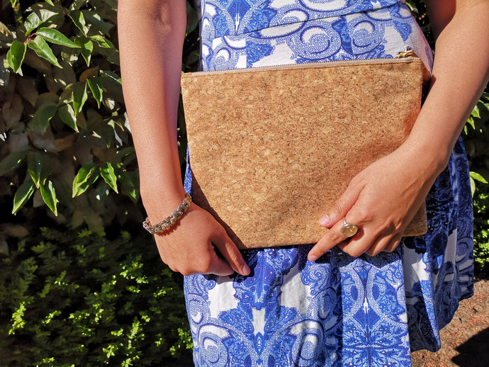 Cork Clutch Natural (Large)