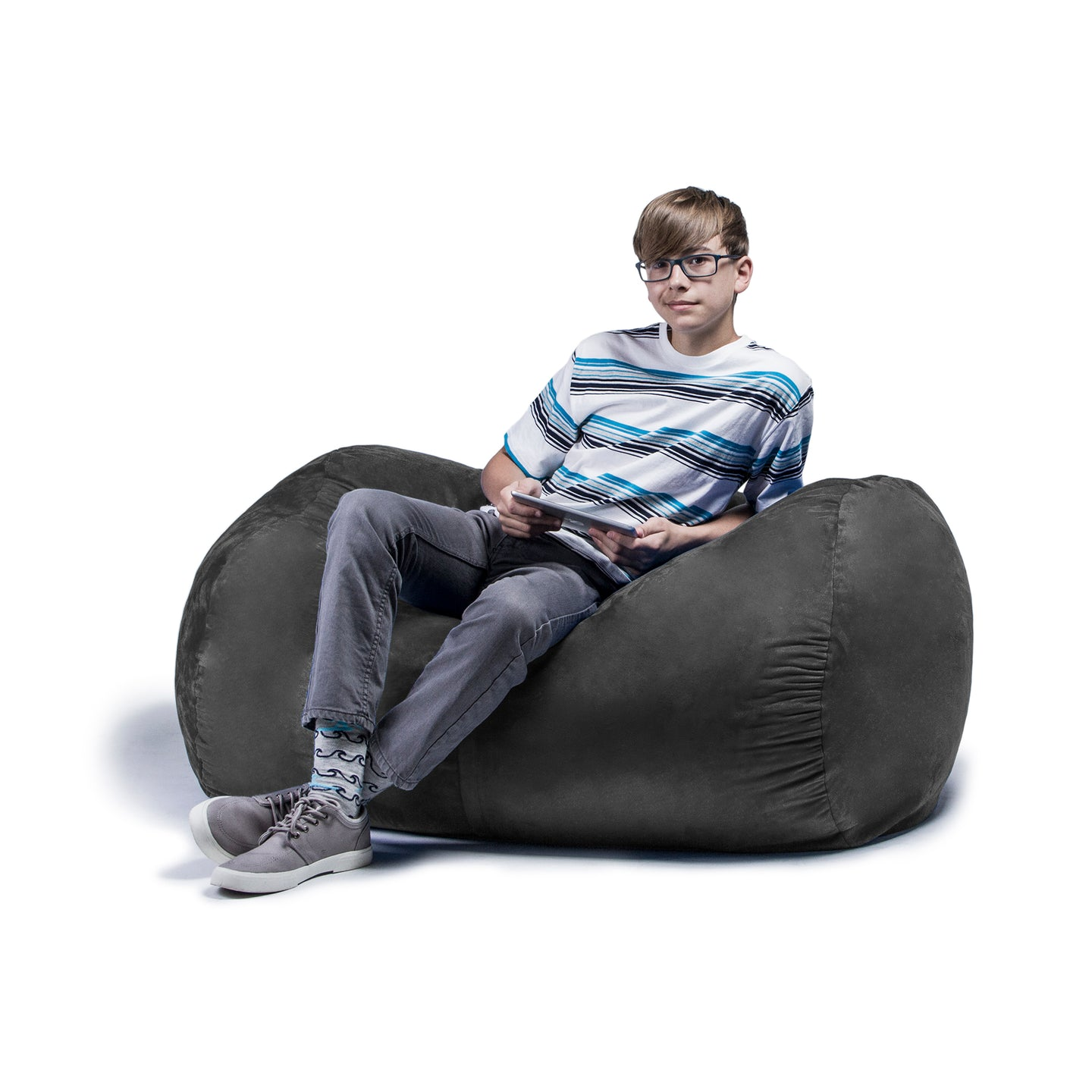 Jaxx 4 ft Lounger Bean Bag - Little Tactile