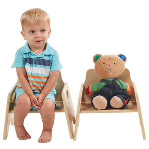 ECR4Kids Wooden Toddler Seats - Little Tactile