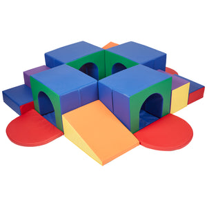 SoftZone® 4-Tunnel Maze - Little Tactile