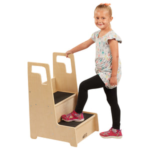 ECR4KIDS Reach-Up Step Stool - Little Tactile