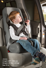 Special Tomato Soft-Touch Booster Car Seat - Small - Little Tactile