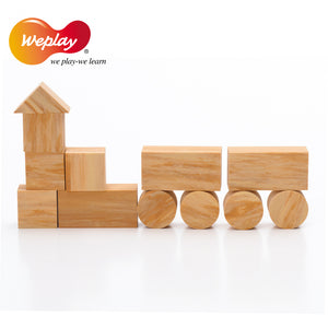 Weplay Softwood Blocks 152pcs - Little Tactile