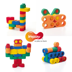 Weplay Linkits 95pcs - Little Tactile
