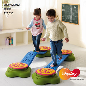 Weplay Water Lily 6pc Set - Little Tactile
