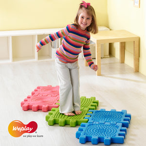 Weplay Tactile Cube 6pc - Little Tactile