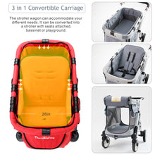 Wonderfold MJ01 Chariot Mini Single Stroller Wagon (1 Seater)