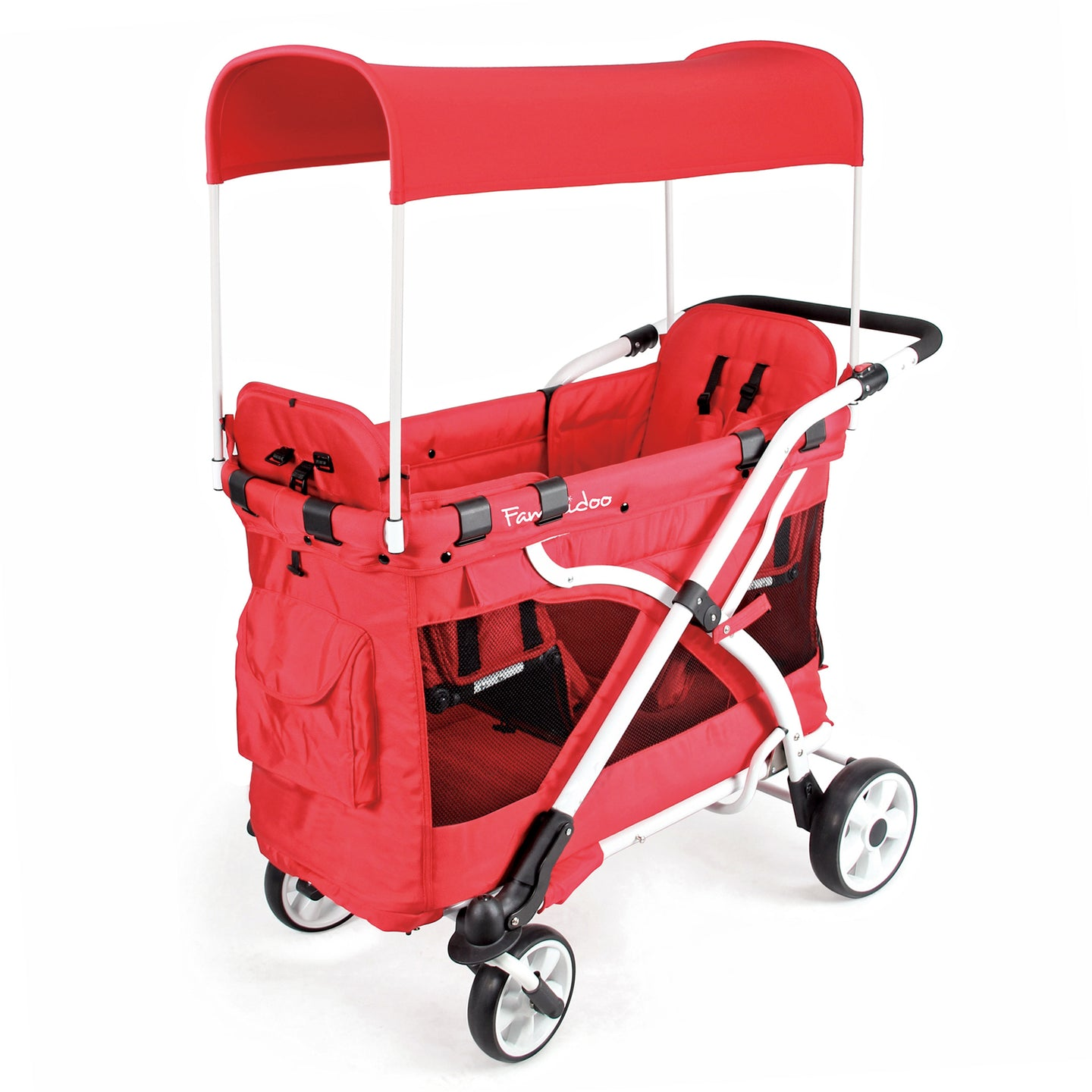 MJ04 Chariot Milioo Double Stroller Wagon (2 Seater)