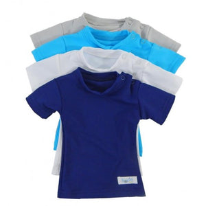 Kozie Baby Plain And Simple Sensory Compression Short Sleeve Shirt - Little Tactile