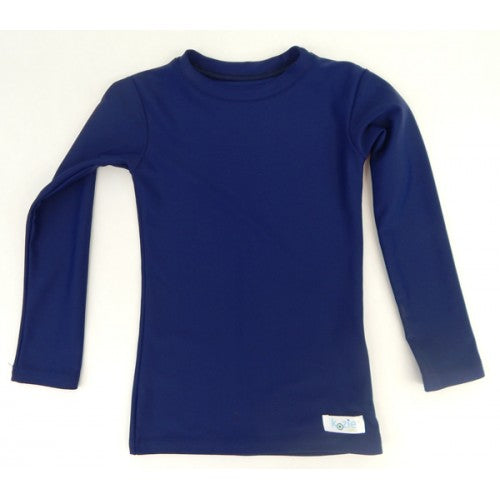 Kozie Long Sleeve Plain And Simple Compression Shirt - Little Tactile