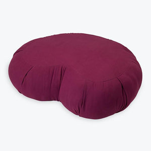 Gaiam Premium Zafu Crescent Meditation Cushion - Little Tactile