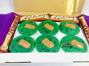 Mint Aero Cookie's and Chocolate
