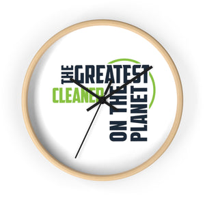 Wall clock - Cleaner