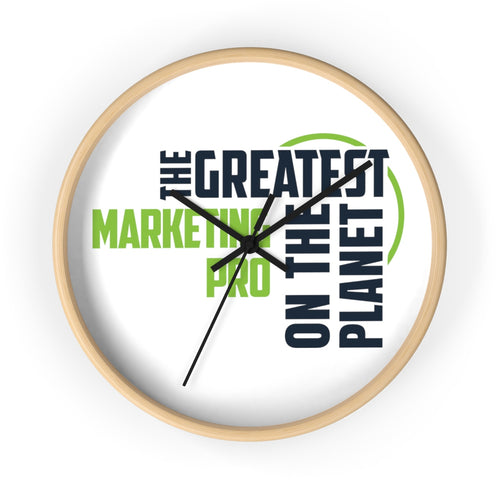 Wall clock - Marketing Pro