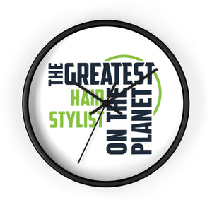 Wall clock - Hair Stylist
