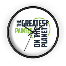 Load image into Gallery viewer, Wall clock - Painter