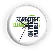 Load image into Gallery viewer, Wall clock - Cleaner
