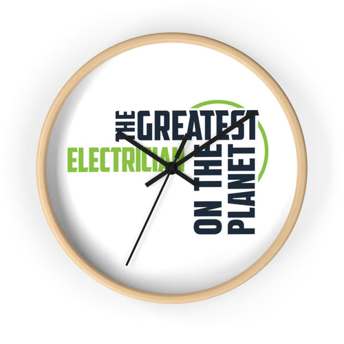 Wall clock - Electrician