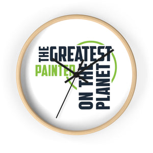 Wall clock - Painter