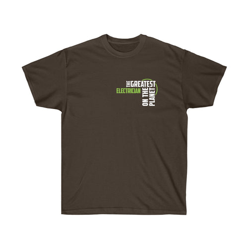 Men's T-shirt - Electrician
