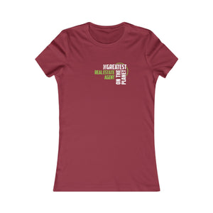 Women's T-shirt - Real Estate Agent