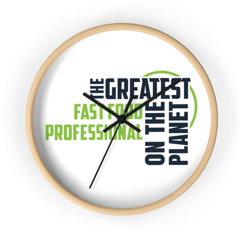Wall clock - Fast Food Pro