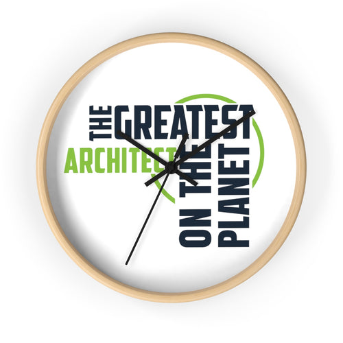 Wall clock - Architect