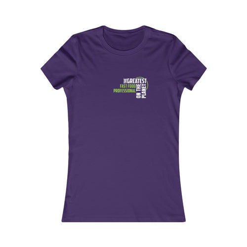 Women's T-shirt - Fast Food Pro