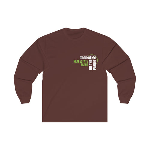 Women's Long Sleeve Tee - Real Estate Agent