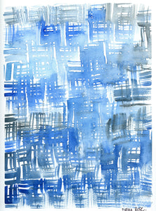 ARTWORK - Blue Hashtag
