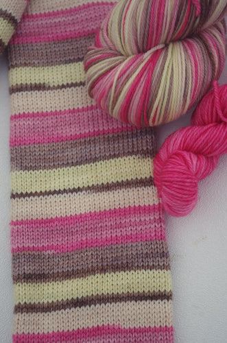 Banana Split - Self Striping Sock Yarn