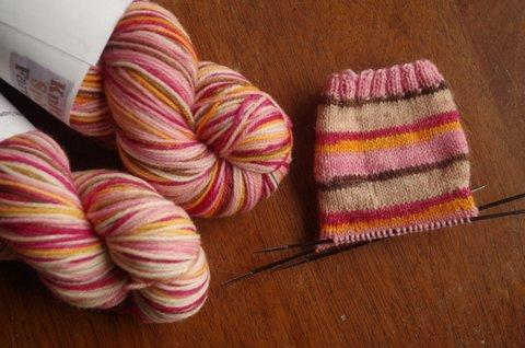 Cherry Blossom Festival - Self Striping Sock Yarn