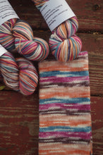 National Creamsicle Day - Self Striping Sock Yarn