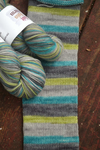 Earth Science Week - Self Striping Sock Yarn