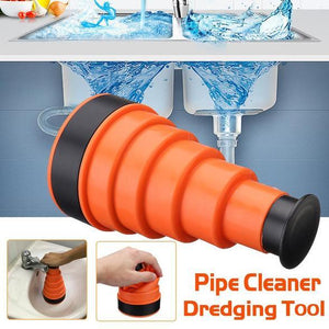 Pressure Clean the waterway Plumber Cannon Clog