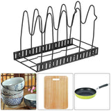 Holder Organizer for Chopping Board, Skillets, Frying Pans, Lids