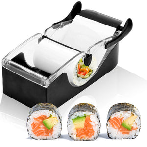 1Set Magic Sushi Roll Maker DIY Rice Roller Mold Perfect Cutter Easy Sushi Making Machine Kitchen Gadget