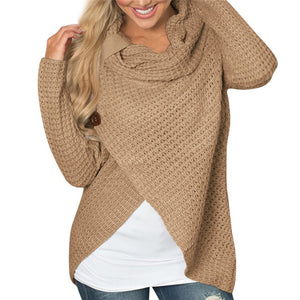 sweater knitted Long Sleeve for women Tops Blouse Shirt pullovers winter women clothing