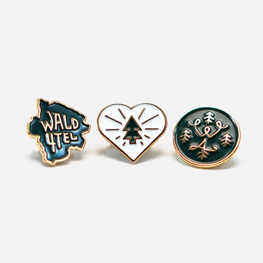 "Pin Set ""1st Edition"""