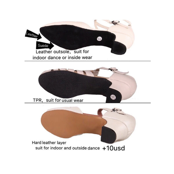 Outsoles and insoles