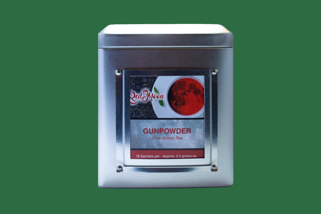 Gunpowder Silver Tin