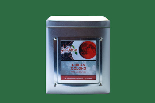 Quilan Oolong Silver Tin