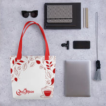 Load image into Gallery viewer, Red Moon Tote bag
