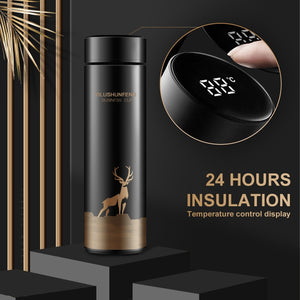 New Stylish Thermos Flask Temperature Display Smart Stainless Steel