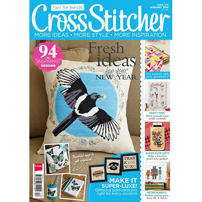 CrossStitcher Januar 2014