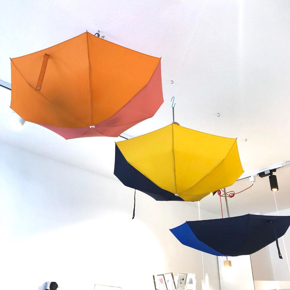 All you need these days... - Mini umbrellas in great color combinations by Anatole, Paris