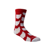 All Over OH Socks - Red/White - Originalitees
