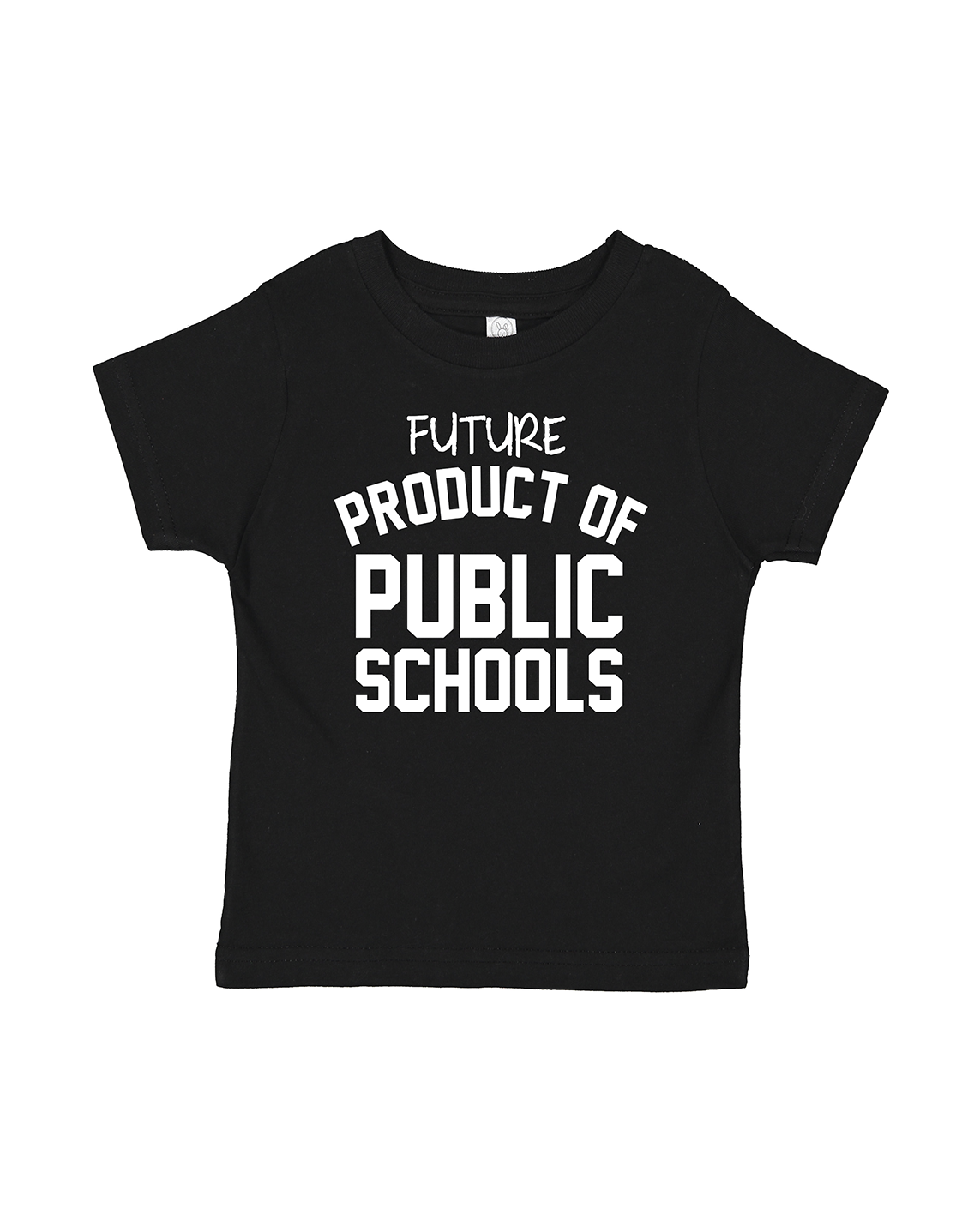 Future Product of Public Schools Short Sleeve Tee - Black - Originalitees