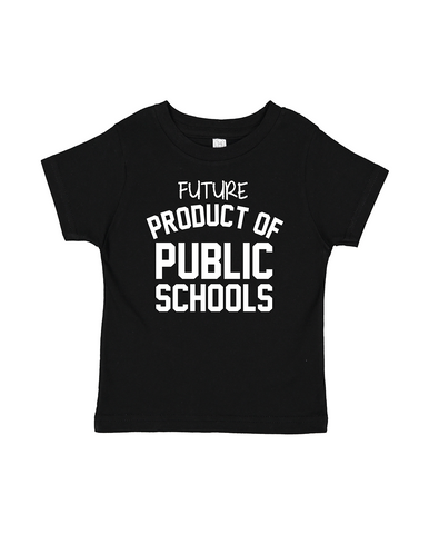 I Teach at Public Schools | Red Tee