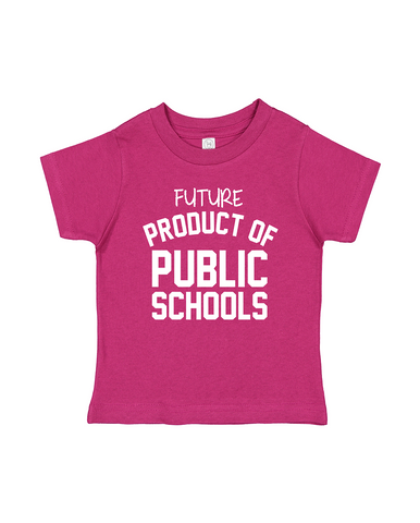 Product of Public Schools - White